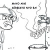 No water - Sun.Star Bacolod editorial cartoon