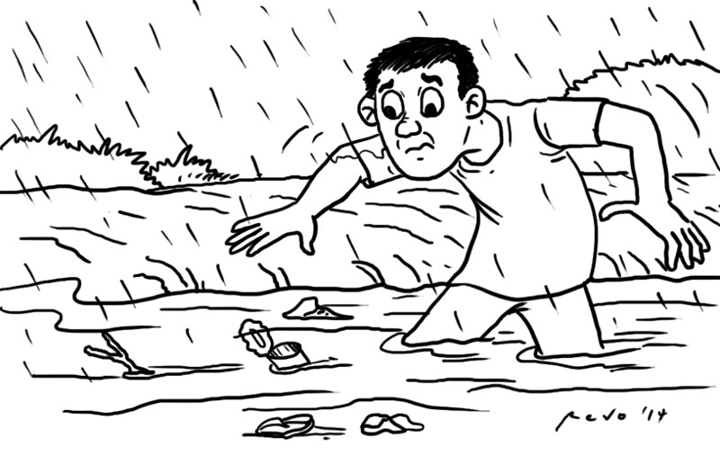 Sun.Star Bacolod's editorial cartoon on flooding