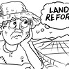 SunStar Bacolod land reform editorial cartoon