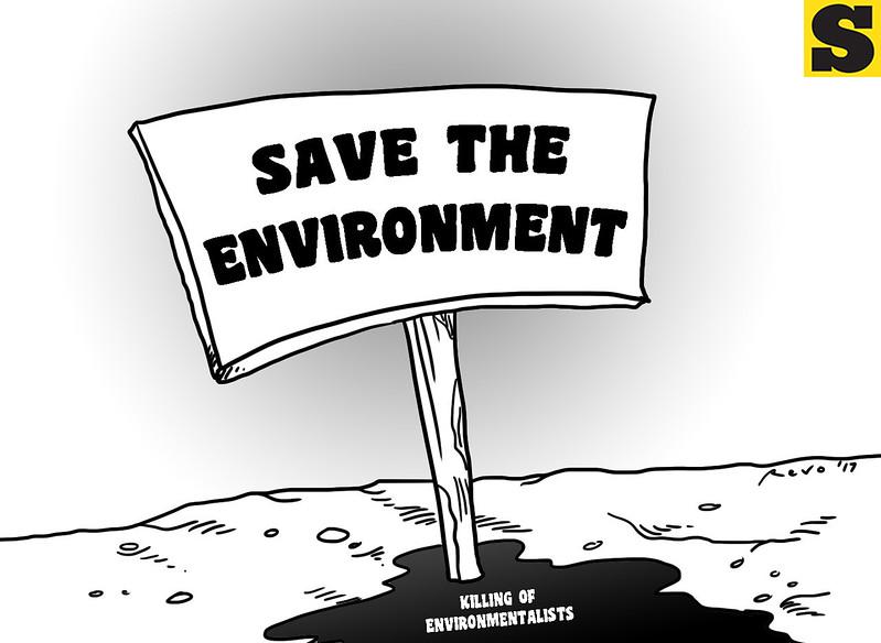 SunStar Bacolod editorial cartoon on saving the environment