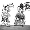 Sun.Star Cebu editorial cartoon in Sinulog and Fiesta Senor