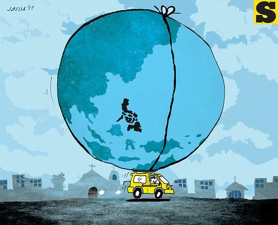 SunStar Cebu editorial cartoon - SunStar New design