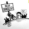 Sun.Star Baguio's editorial cartoon on NCIP revamp