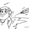 Sun.Star Bacolod editorial cartoon on polio, measles vaccination
