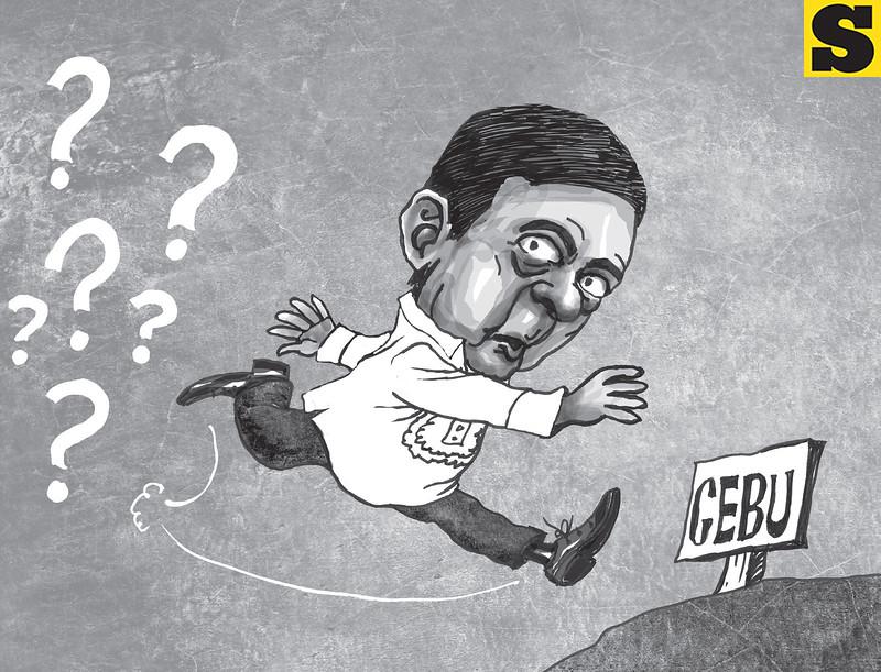 Vice President Jejomar Binay escape