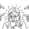 SunStar Bacolod editorial cartoon on witnesses pointing at Senator Leila de Lima