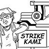 SunStar Bacolod editorial cartoon on transport strike