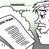 Sun.Star Bacolod's editorial cartoon on computer scam
