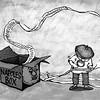 Sun.Star Cebu editorial cartoon on Janet Napoles box