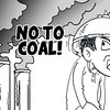 No to Coal, say Sun.Star Bacolod editorial cartoon