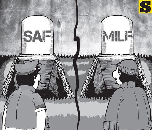 Sun.Star Cebu editorial cartoon on Mamasapano, Maguindanao encounter