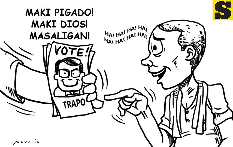 Sun.Star Bacolod editorial cartoon on voting a trapo politician