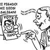 Sun.Star Bacolod editorial cartoon on voting a trapo politician