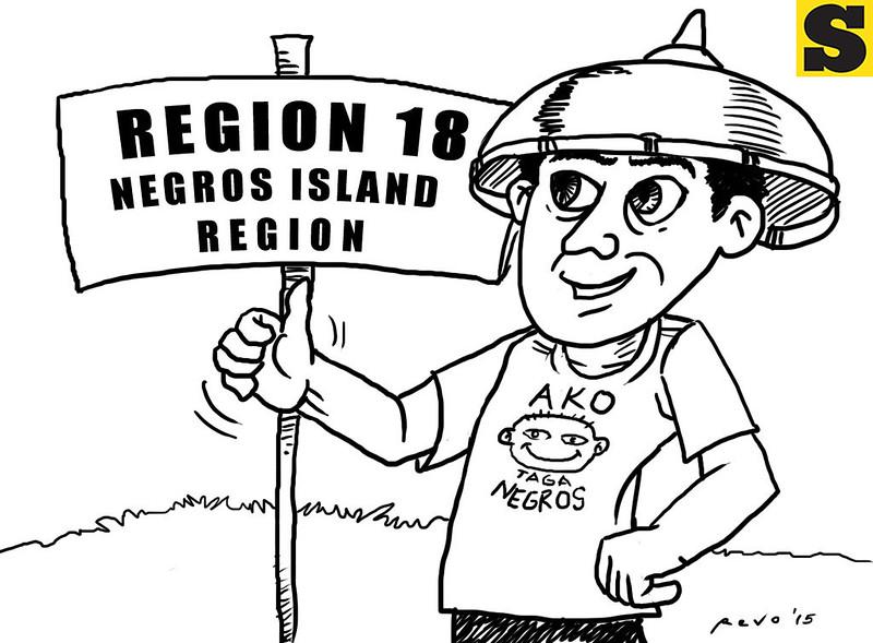 Sun.Star Bacolod's editorial cartoon on Negros Island Region