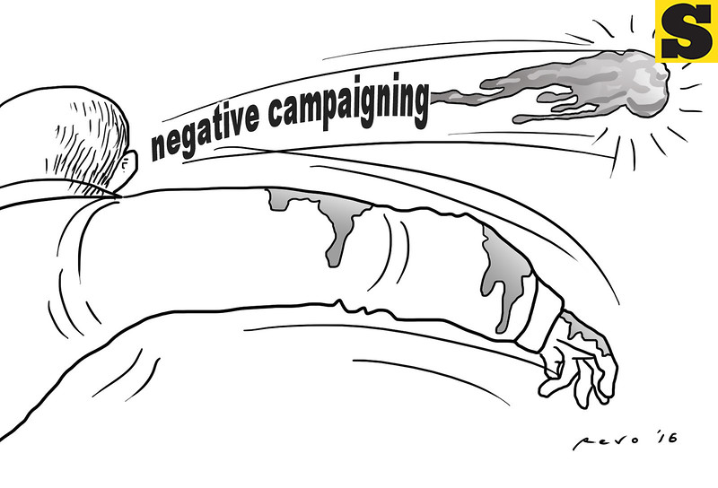 Sun.Star Bacolod editorial cartoon on election campaigning