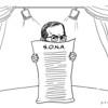 Editorial cartoon on President Noynoy Aquino's State of the Nation Address 2015
