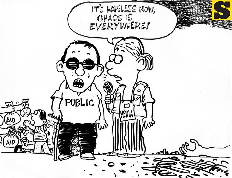 Sun.Star Cebu's editorial cartoon for November 16, 2013