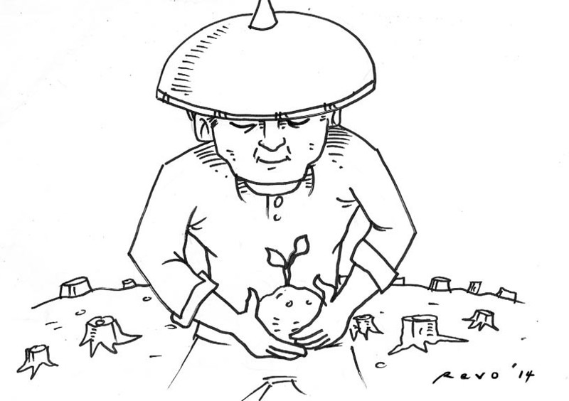 Sun.Star Bacolod editorial cartoon for February 17, 2014