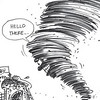 Sun.Star Cebu editorial cartoon on tornado