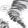 Sun.Star Cebu editorial cartoon on tornado