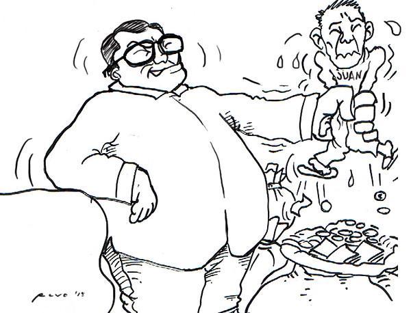 Sun.Star Bacolod editorial cartoon for June 8, 2015 (Filipino Juan)