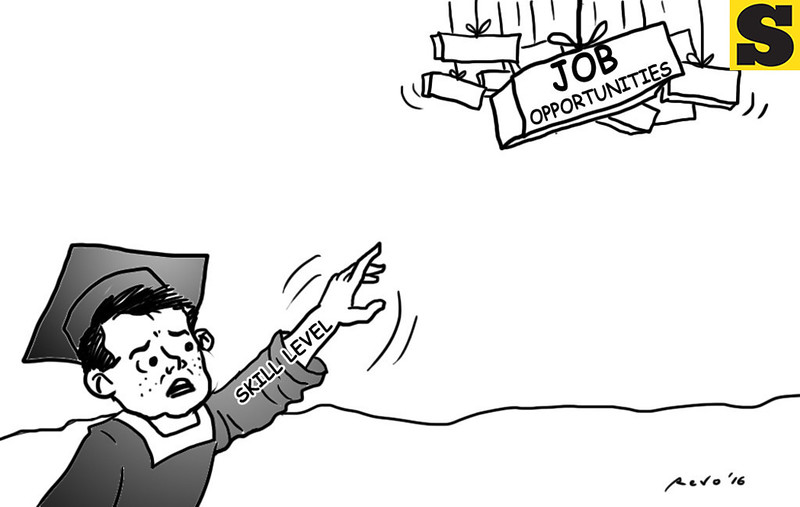Sun.Star Bacolod editorial cartoon on job opportunities