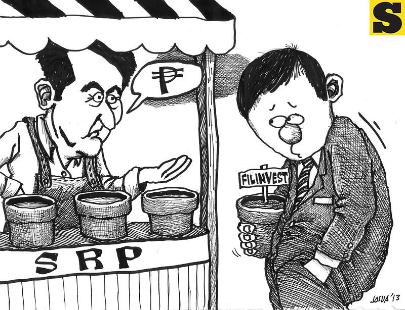 Sun.Star editorial cartoon for December 21, 2013
