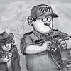 Sun.Star Cebu editorial cartoon on Atty. Noel Archival's ambush