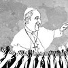 Sun.Star Cebu's editorial cartoon on Pope Francis's visit to the Philippines