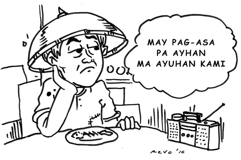 Sun.Star Bacolod editorial cartoon on poor Filipino family