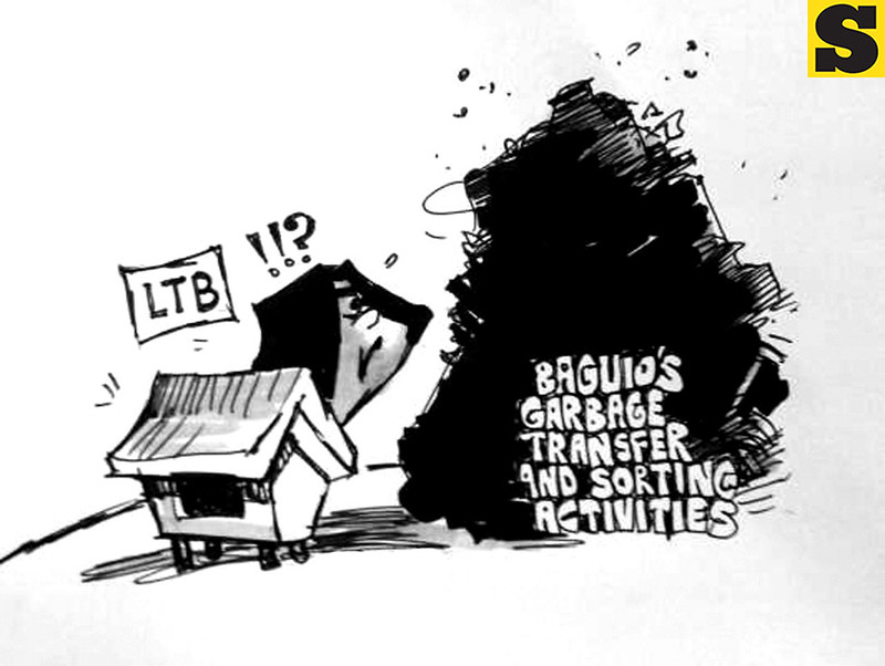 Sun.Star Baguio editorial cartoon for September 19, 2013 issue