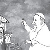 Sun.Star Cebu editorial cartoon on Pope Francis visit to Philippines