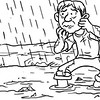 Sun.Star Bacolod's editorial cartoon on rainy season