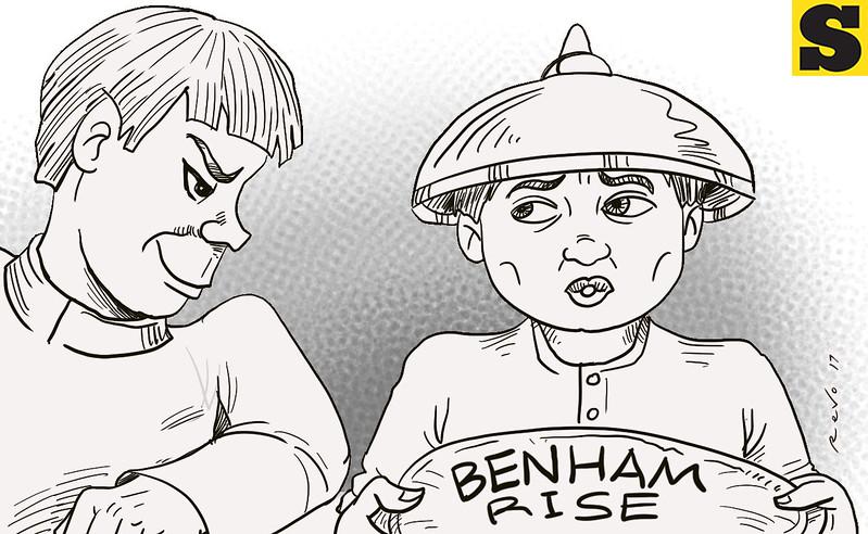 SunStar Bacolod editorial cartoon on Benham Rise