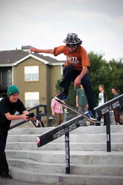 Pro Skateboarding Event.