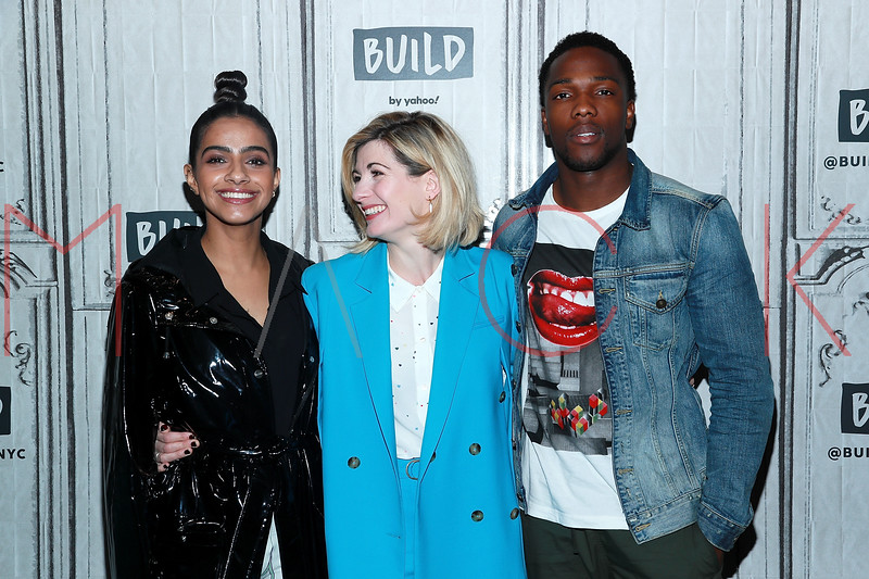"""BUILD Speaker Series: Discussing The return of BBC America's hit action-adventure series, """"Doctor Who"""", New York, USA"""