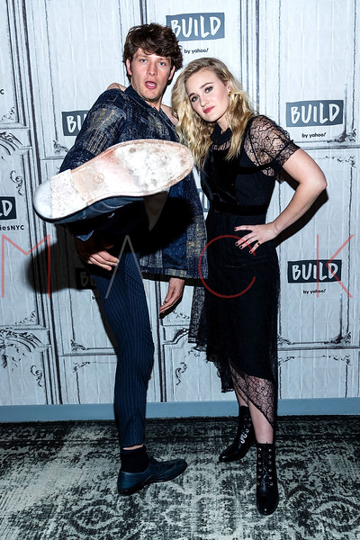 """BUILD Speaker Series discussing """"Schooled"""", the ABC sitcom spinoff of """"The Goldbergs"""", New York, USA"""