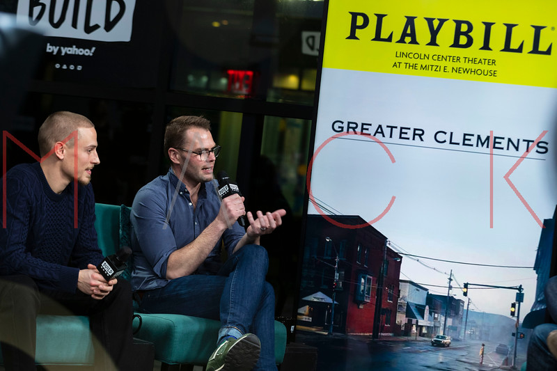 """BUILD Speaker Series: Discussing the play """"Greater Clements"""", New York, USA"""