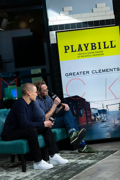 "BUILD Speaker Series: Discussing the play ""Greater Clements"", New York, USA"