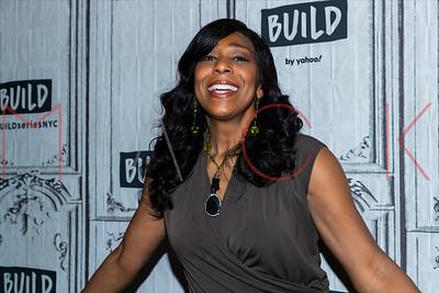"New York, NY - January 12:  Dawnn Lewis visits the BUILD Series to discuss ""Tina: The Tina Turner Musical"""