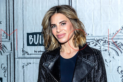 """New York, NY - January 07:  Jillian Michaels visits the BUILD Series discussing """"My Fitness by Jillian Michaels"""" app."""