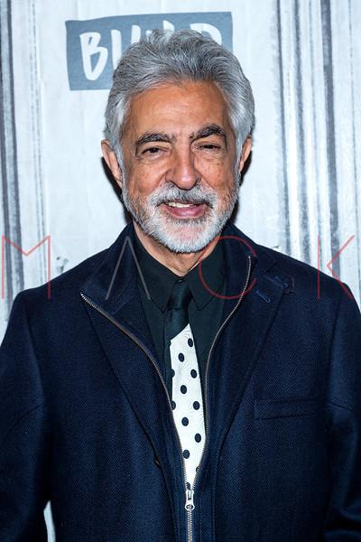 "Joe Mantegna visits the BUILD Series to discuss the 15th season of ""Criminal Minds"", New York, USA"