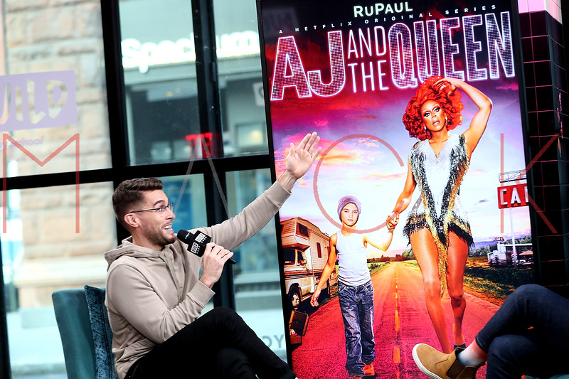 """Josh Segarra visits the BUILD Series to talk about the new Netflix series, """"AJ and The Queen"""", New York, USA"""