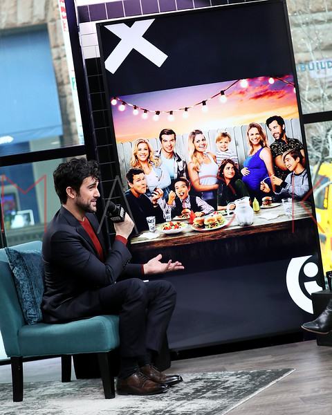 """Juan Pablo Di Pace visits BUILD Series discussing Netflix's """"Fuller House"""" and his solo show at The Green Room 42, New York, USA"""
