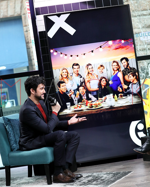 "Juan Pablo Di Pace visits BUILD Series discussing Netflix's ""Fuller House"" and his solo show at The Green Room 42, New York, USA"