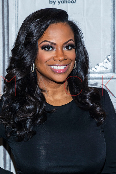 """Kandi Burruss visits the BUILD Series to discuss season 12 of """"The Real Housewives of Atlanta"""", New York, USA"""