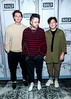 "Members of the trio, lovelytheband, visit The BUILD Speaker Series to discuss their new single ""loneliness for love"", New York, USA"