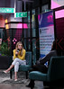 "Melissa Roxburgh visits the BUILD Series to talk about the second season of the NBC series ""Manifest"", New York, USA"