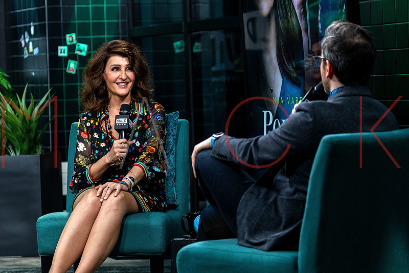 """Nia Vardalos visits the BUILD Series to discuss Lifetime's """"Poisoned Love: The Stacey Castor Story"""", New York, USA"""