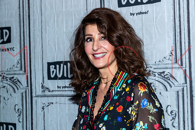 """New York, NY - January 26:  Nia Vardalos visits the BUILD Series to discuss Lifetime's """"Poisoned Love: The Stacey Castor Story""""."""